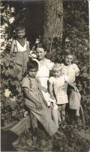 Cecil, Howard, Lena Carol, and Mack Higgerson