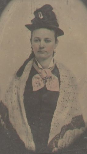 Emma Jane Barksdale (tintype)