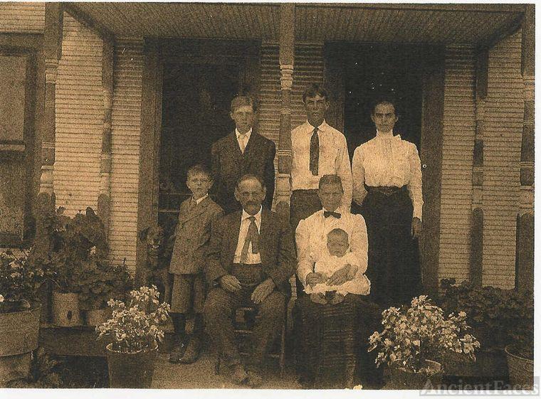Homer Sheeks, Kate (Stevens) & Family