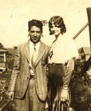 Fritz and Edna McCray, 1929 VA
