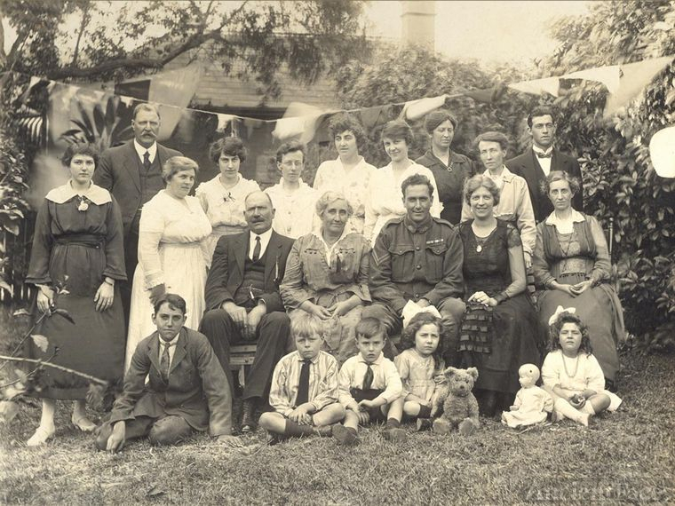 Homecoming party 1919