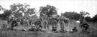 National Guard at Leon Springs