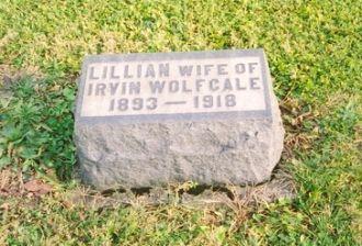 Lillian Delaney gravestone