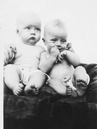 Donald & Daniel Felts, New Mexico 1919