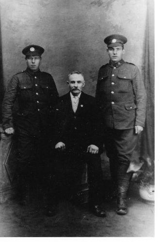 Ernest, Jabez & Samuel Knighton