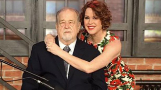 Robert Ringwald with daughter Molly Ringwald.