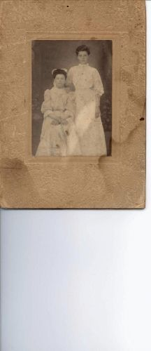 Woman Standing & Woman Seated