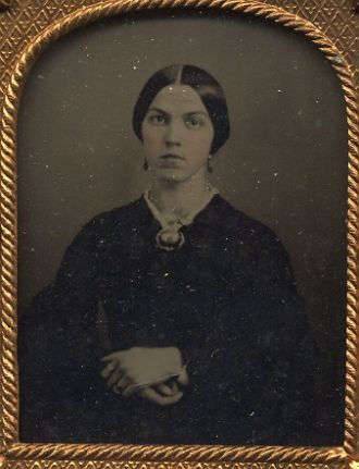 Adeline nee Burch Pickett wife of Chancey Pickett