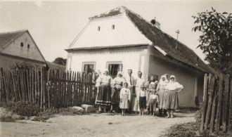 Galla Family Visit 1938
