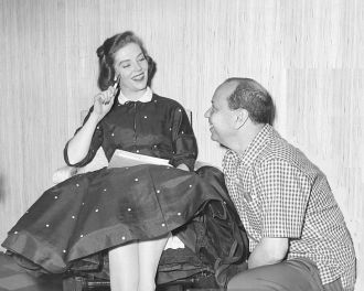 Betty Ann Grove and actor