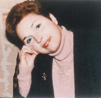 CHRISTINE'S FRIEND, AMANDA S. STEVENSON IN 1984.