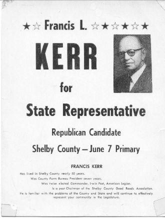 A photo of Francis Lambert Kerr