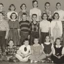 Garrison School class 4th/5th gr 1956-57, named