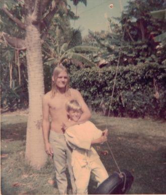 Jim and Martin Farrell, Hawaii