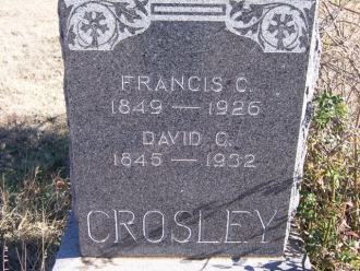 Frances Caroline (Webb) Crosley
