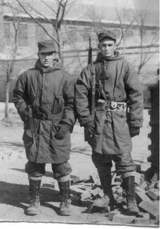 1st Marines Div guarding the gate