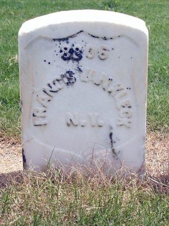 Francis Van Kleeck gravesite