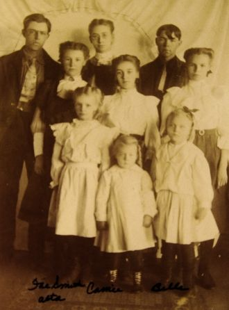 Oscar Hanson family
