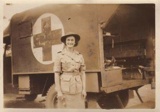 Lt. Bea Krauss - 1944 - New Guinea
