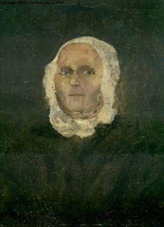 Marianna Mayo Anderson, 1840 Virginia