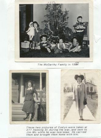 Evelyn Ramage McCarthy, Wisconsin