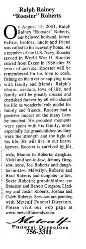 Ralph Rainey Roberts