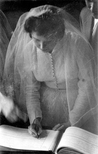 Rita O'Grady, wedding