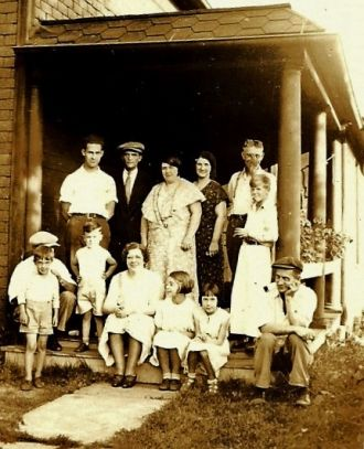 Myron Barber Johnson family