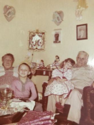 Pearl Lattanzi December 1957