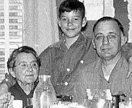 Josie, Loyd, & David Grubbs, 1955 Ohio