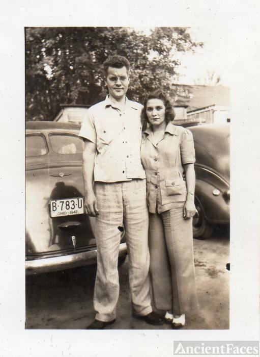 Ralph and Pauline Gertrude (Miller) Slick