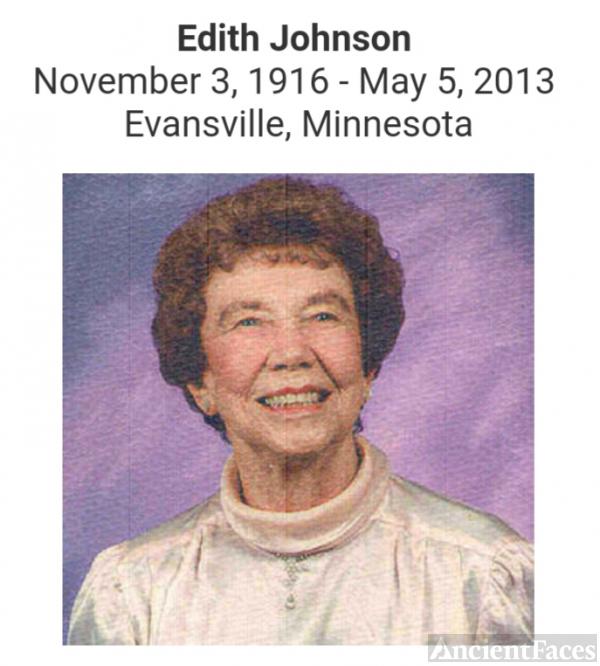 Edith Ann Eliza (Arnquist ) Anderson-Johnson