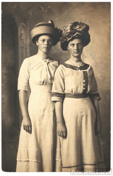 Two Women in Fabulous Hats