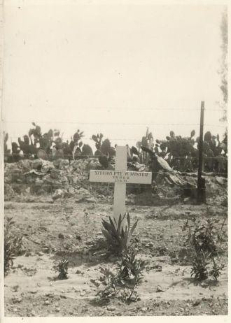 William  Winter gravesite