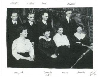 Kieran Bergan family pre-1934