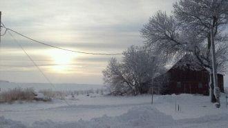Minnesota Winter Sky