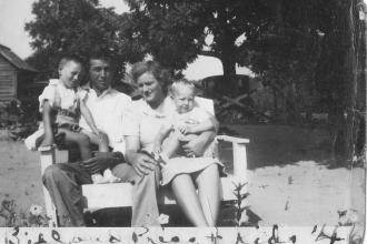 Bill, Priss and kids
