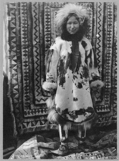 Unknown Eskimo girl
