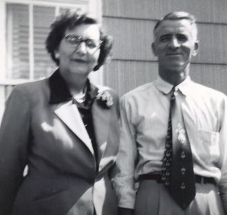 Myrtle (Webster) Riggs & Bruce Riggs, OH