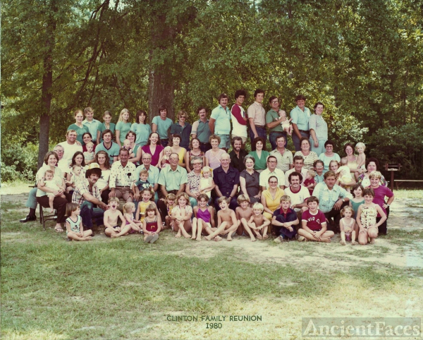 William B Clinton family reunion