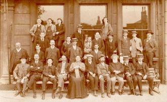 The Staff of the Sheakespeare Hotel, Woolwich. Ken