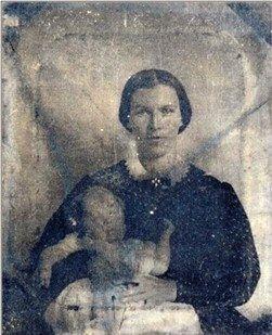 Nancy Sephora Greenstreet Anderson (1828-1875) and John Segil Anderson (1861-1931)