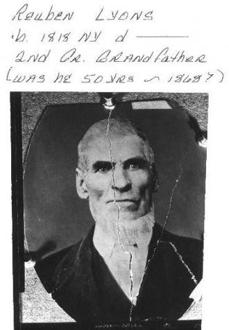 A photo of Reuben Lyons