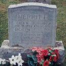 Merritt Gravestone [Hodgdon, Maine]