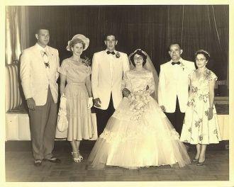 Wedding of Al & Joan Menendez McCulley