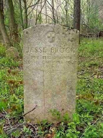 Jesse Brock Gravesite