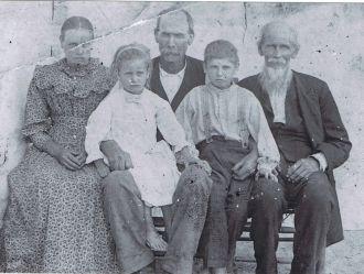 Joseph William Myers Family