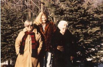 Lucille & Deborah Barrett and Elsie Austgen