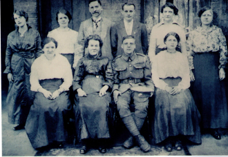 Frederick Owen and his family.