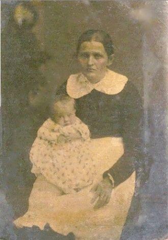 Martha Jane Petree Long & daughter, Eliza E. Long